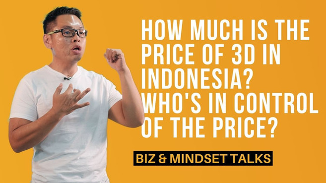 How Much Is The Price of 3D In Indonesia?