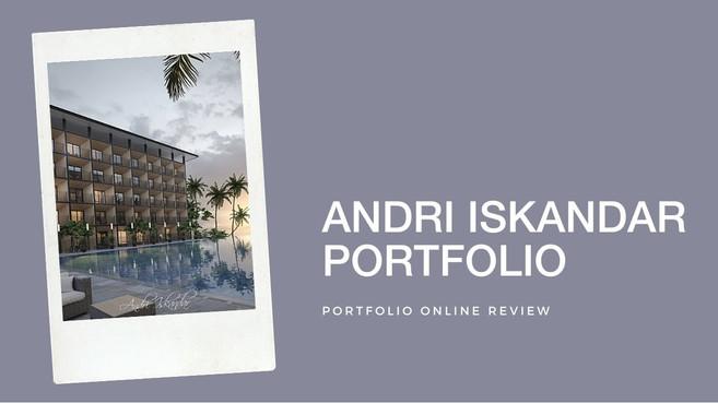 Andri Iskandar's Portfolio Review