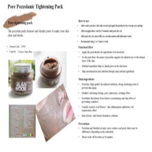 Pore Pozzolanic Tightening Pack