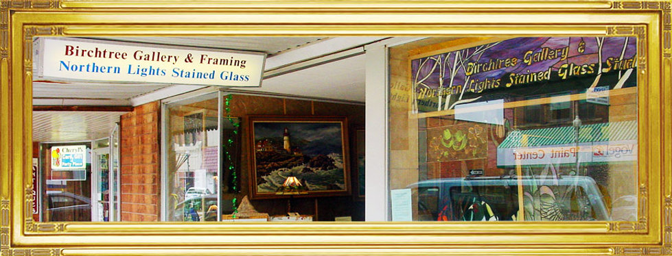 Custom Framing & Custom Stained Glass Watertown South Dakota