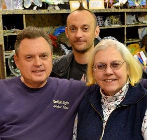Al, Cheryl, & Chris Wentzell of Watertown, South Dakota