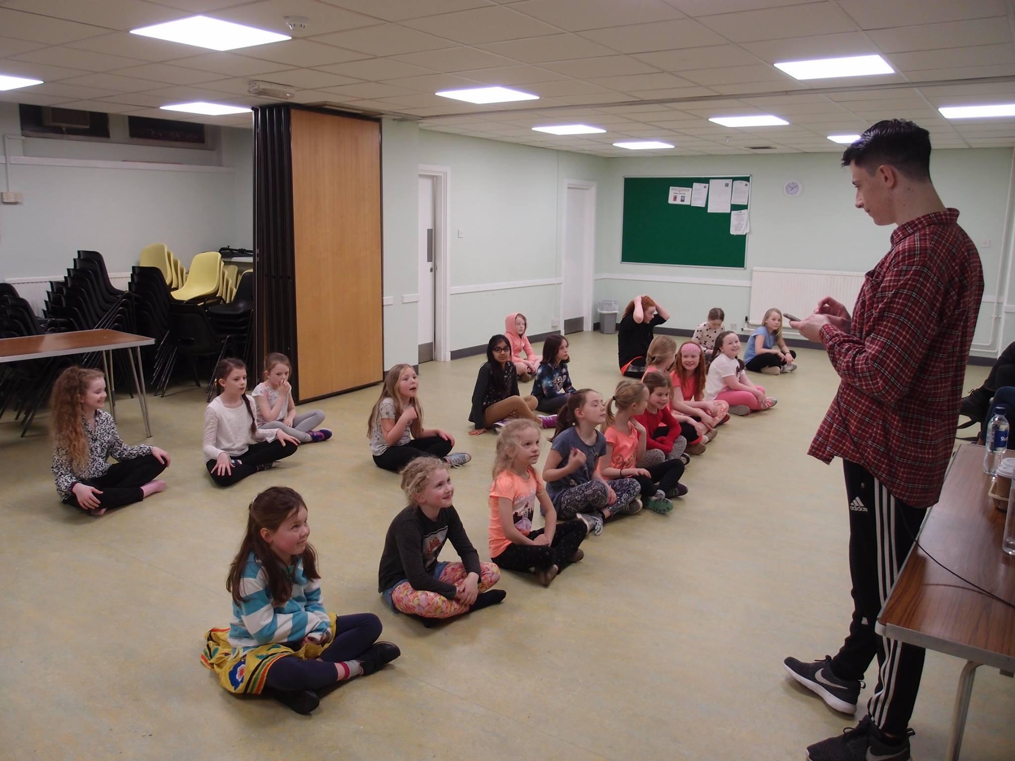 Workshop with Annie's Ben Mundy