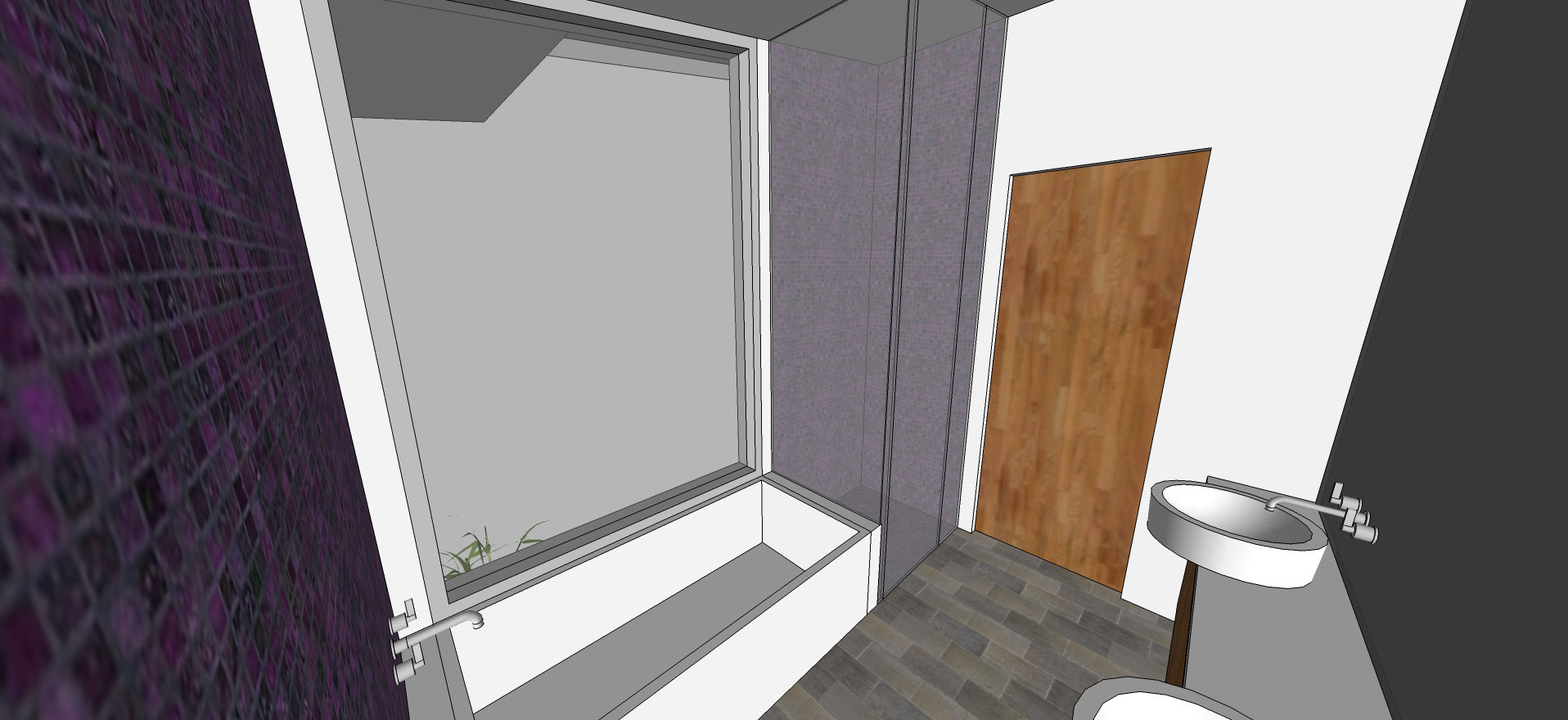 interior master bath