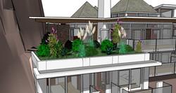rooftop garden off living
