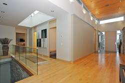 interior foyer/hall to office