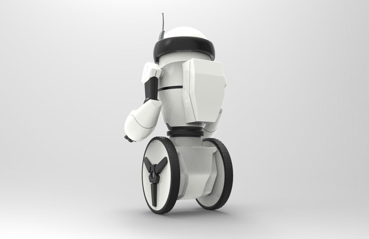 Robot Rear View