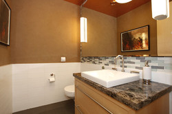 lower floor bath