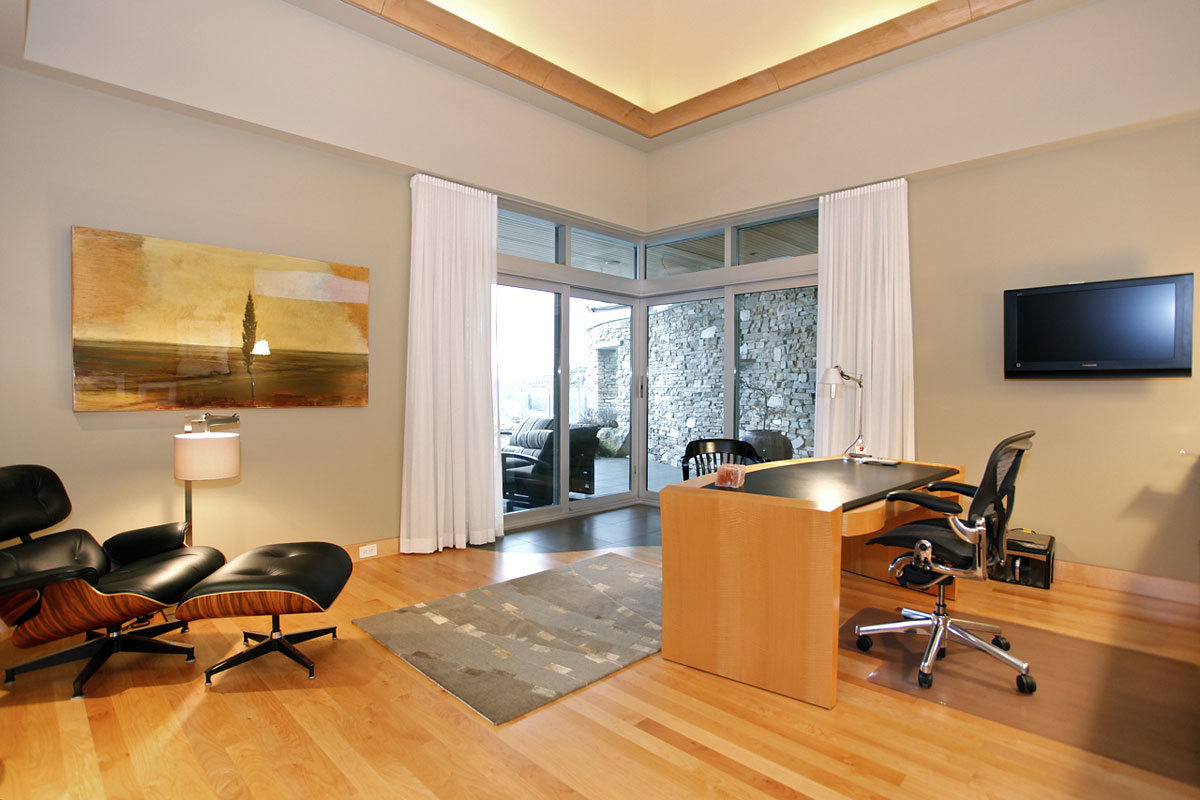 office looking southwest