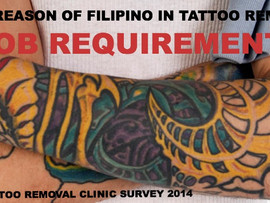 TOP REASON OF FILIPINOS IN TATTOO REMOVAL
