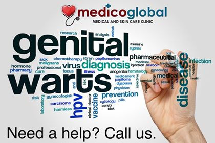 Genital Warts Removal at Medico Global Clinic