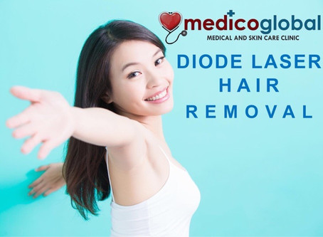 Painless Diode Hair Removal