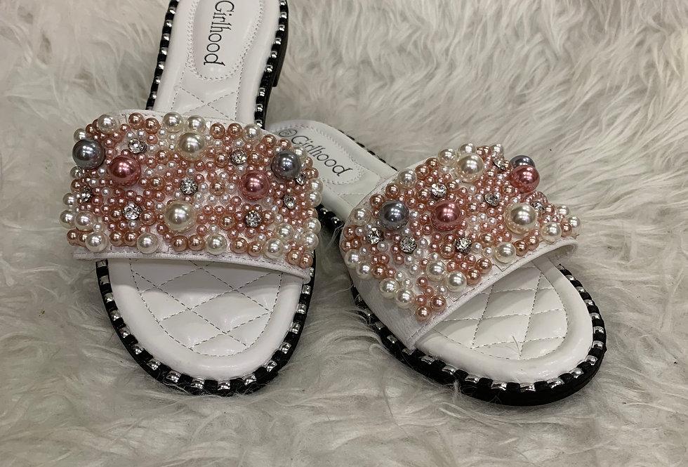 Chaussure perles