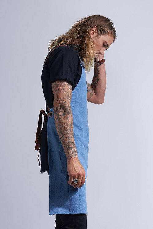 AUSTIN DENIM APRON