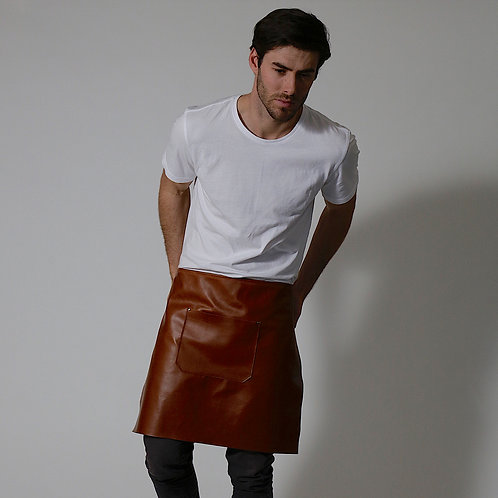 BRUMBY LEATHER WAIST APRON