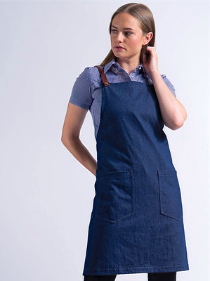 BILLINGS DENIM APRON
