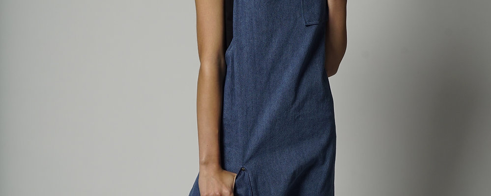 90210 DENIM APRON