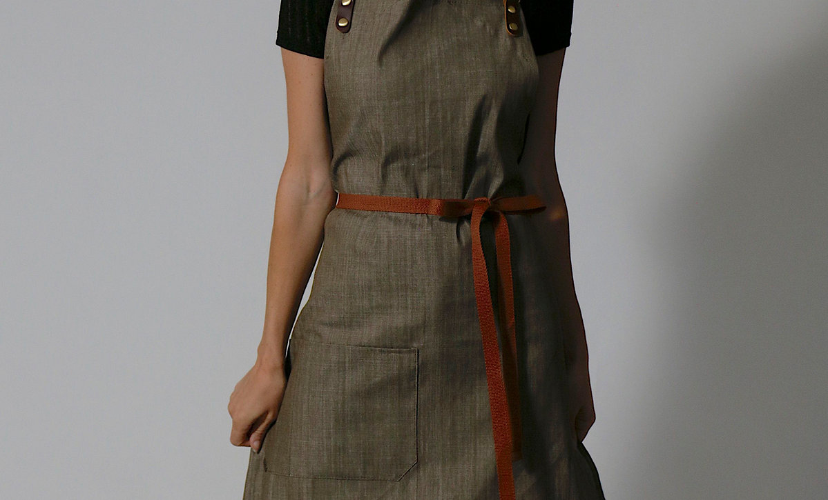 SHOREHAM DENIM APRON