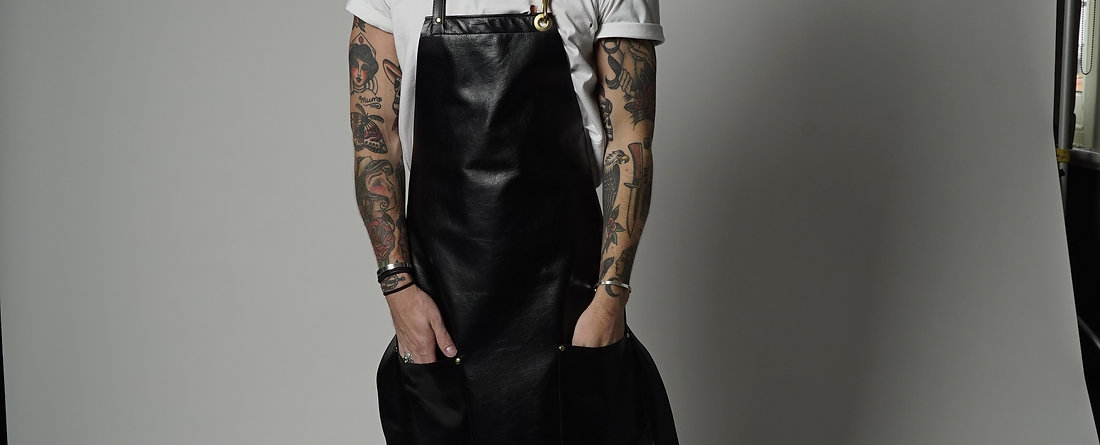 JAMISON LEATHER APRON