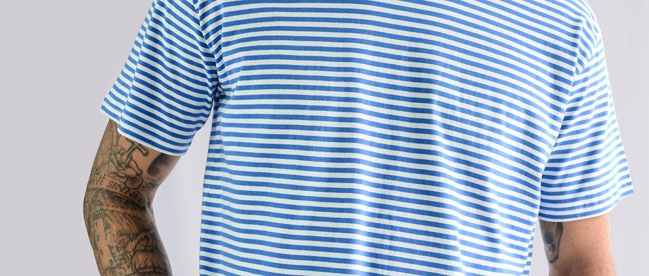 BEACHWOOD MENS SHORT SLEEVE TEE - SKY BLUE