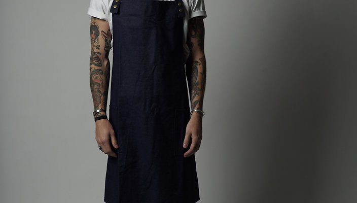 MACHINIST DENIM APRON