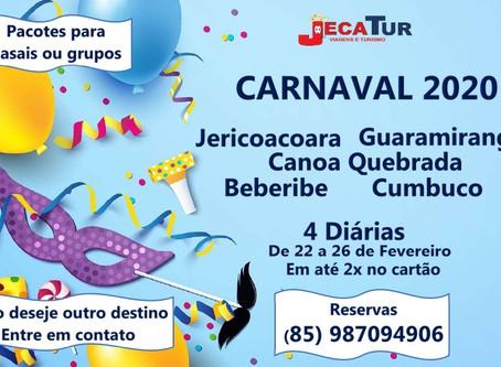 Pacotes para o Carnaval 2020 no Ceará.