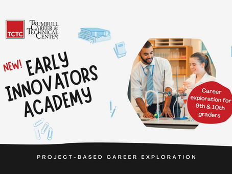 TCTC Announces Early Innovators Academy for Ninth and Tenth Grade Students