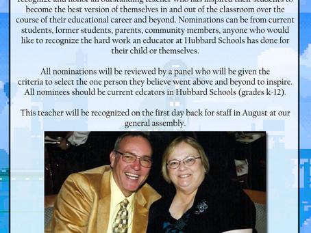 Linda Slater Memorial Award