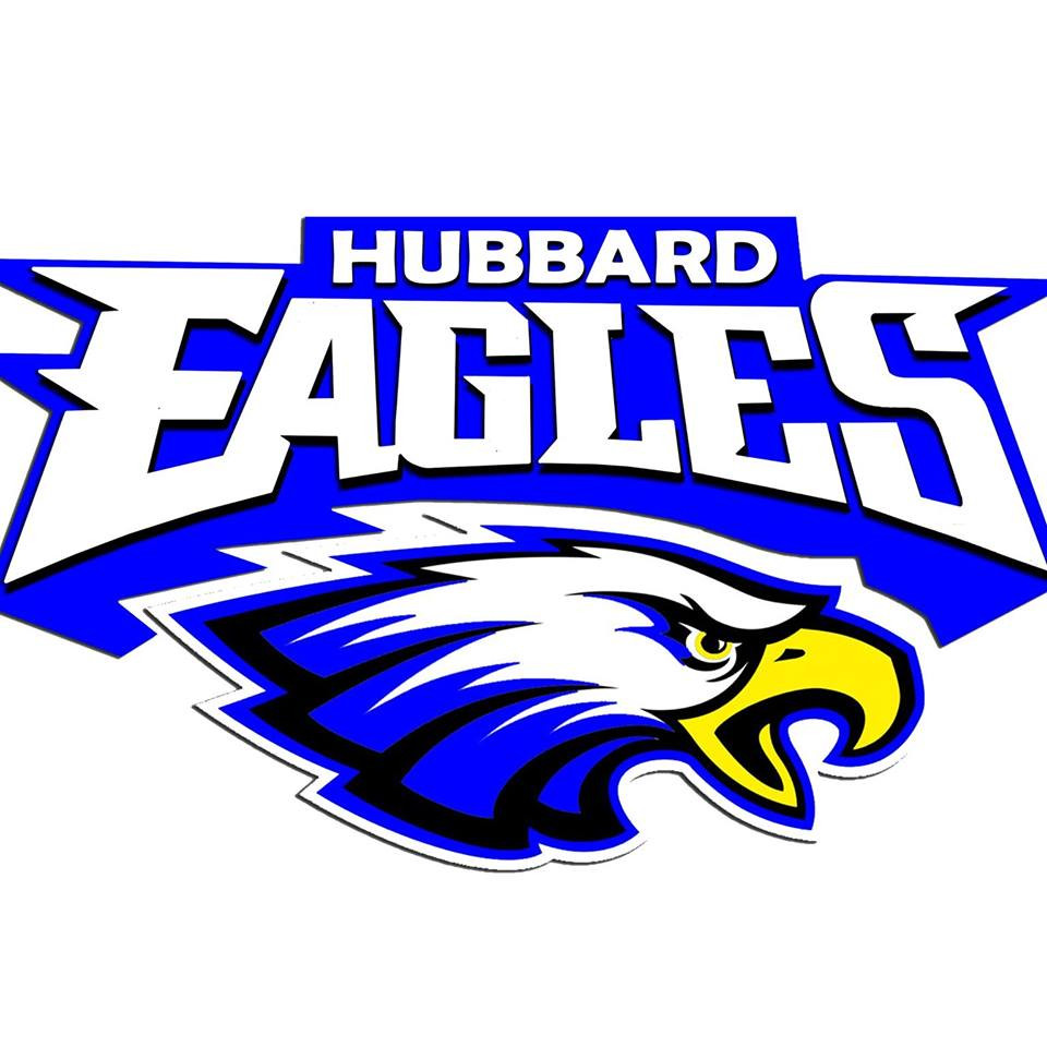 Picture of the hubbard eagles logo
