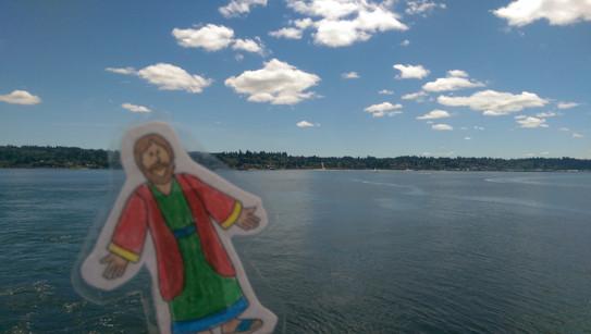 Flat Jesus Visits Seattle.jpg