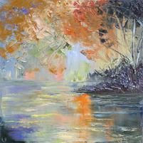 Soft Pond Reflection