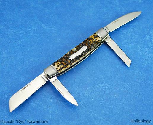 Ryuichi Kawamura 4 Blade Congress Knife