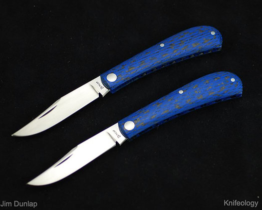 Jim Dunlap - Shadow Trapper (Black/Blue Carbon Fiber)
