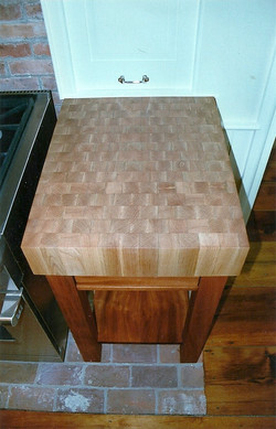 Maple & mahogany butcher block