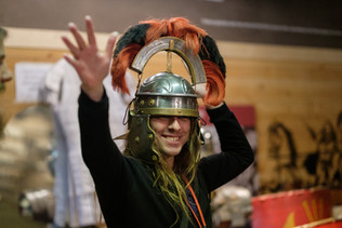 Whodunnits! 15th Oct Lunt Roman Fort-101