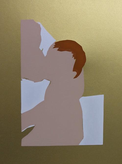 Breastfeeding - gold / Sari Fishman