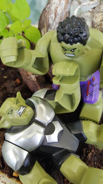 Goblin vs. Hulk