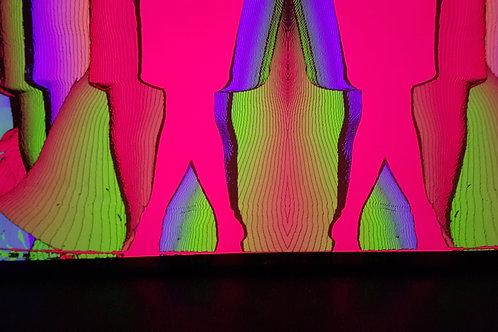 psychedelic self photography #2 / Sari Fishman