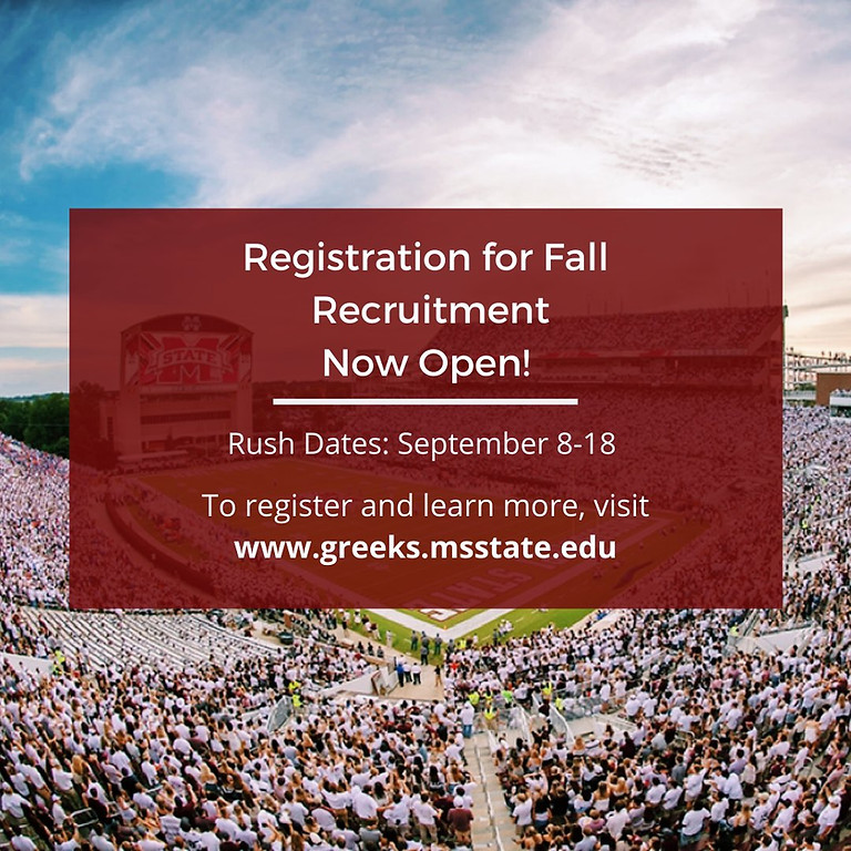Mississippi State Fraternity Rush