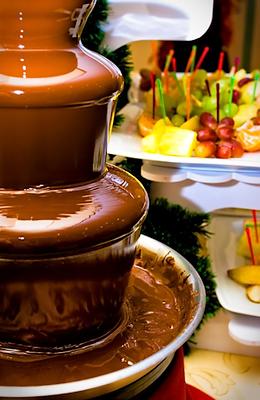 location de fontaine à chocolat fondu à québec
