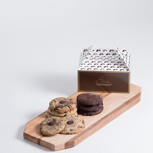 Les Tendres Biscuits au Chocolat Érico - Boîte de 8