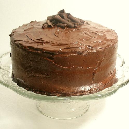 Le Gâteau Classique au Chocolat - 9 pouces