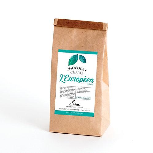 Poudre pour chocolat chaud - Européen (Moyen) - 200g