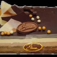 Entremet 3 chocolats 4/6 personnes
