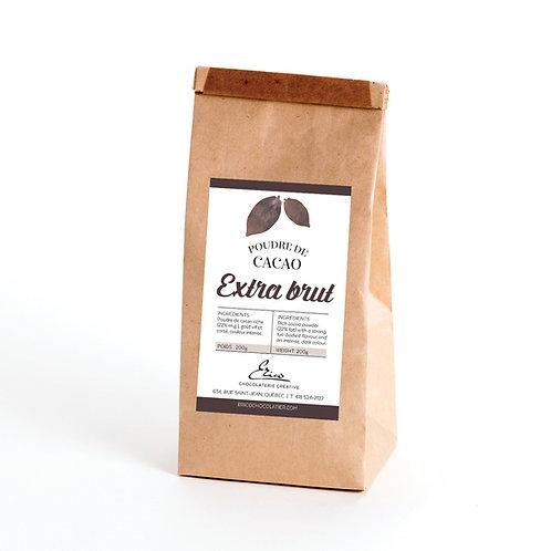 Poudre de cacao Extra Brut - 200 g
