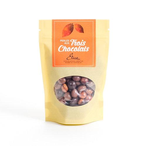 Perles aux trois chocolats. 110g