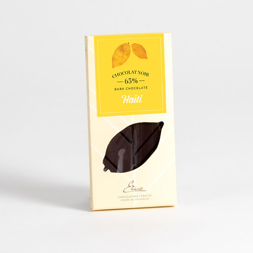 Tablette chocolat amer Haïti 65%