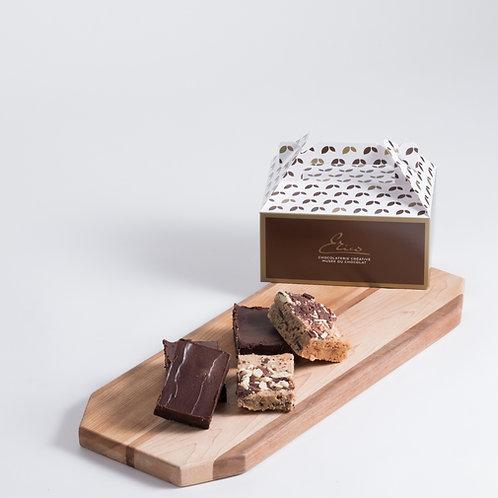 Les Savoureux Brownies et Blondies - Boîte de 12
