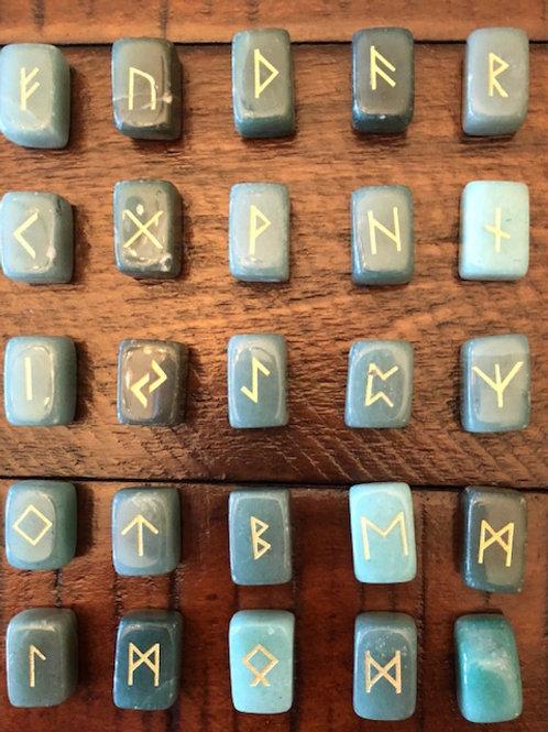 Jade Rune Set