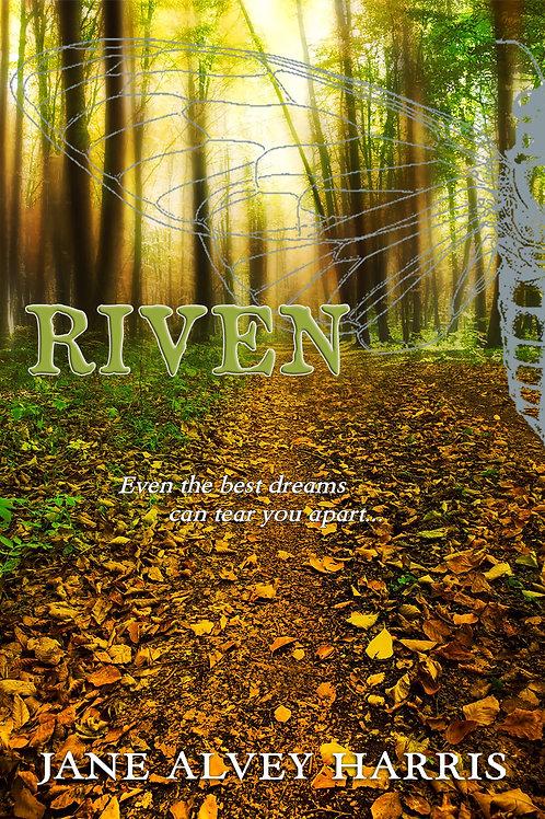 Signed Copy of Riven: Original Cover