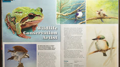 My magazine feature in Creative Artist magazine (issue 9)